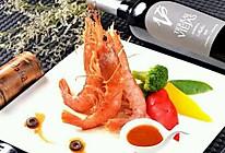 清蒸阿根廷红虾的做法