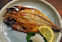 烤竹荚鱼干的做法