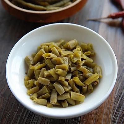 武汉酸豆角(热干面必备)