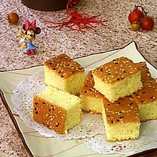 #柏翠辅食节-烘焙零食#芝麻法式海绵蛋糕