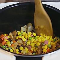 香菇鸡胸肉焖饭的做法图解4