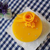 6寸芒果慕斯蛋糕的做法图解16