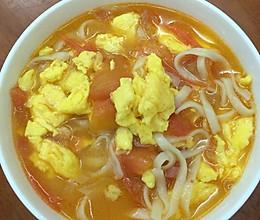番茄鸡蛋面的做法
