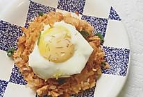 韩式泡菜炒饭(简易版)的做法