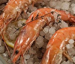 海盐烤虾的做法