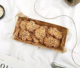 红糖椰蓉燕麦饼干的做法