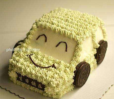 越野小吉普奶油汽车蛋糕