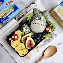 金枪鱼海苔肉松龙猫饭团#安佳儿童创意料理#