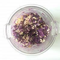 外脆内软爆浆紫薯芝士饼,超级拉丝还爆浆的做法图解6