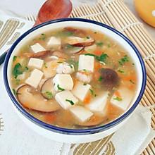 12M+鲜虾豆腐羹:宝宝辅食营养食谱菜谱