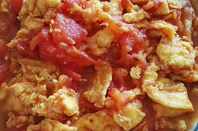 快手菜之西红柿炒鸡蛋,宝宝吃不厌的简单菜