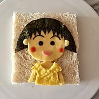 芝士萌娃三明治|樱桃小丸子#百吉福食尚达人#的做法图解11