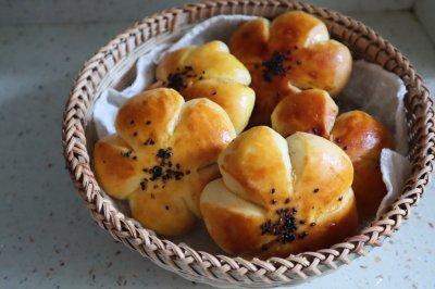 无糖红豆沙面包