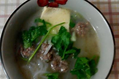 羊肉丸子冬瓜汤