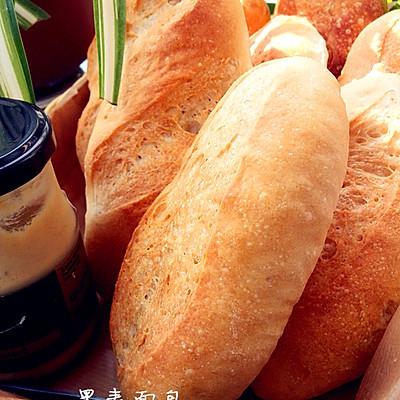 简单の黑麦面包