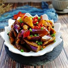 #精品菜谱挑战赛#家常菜+肉末烧茄子