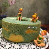 蓝天白云戚风蛋糕