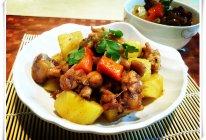 黑椒鸡腿烧土豆的做法
