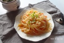 番茄土豆丝#黑人牙膏,一招制胜#的做法