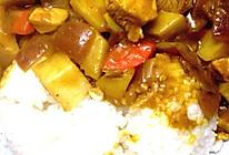 咖喱土豆鸡块饭的做法