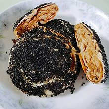 麻酱椒盐烧饼