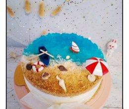 海洋慕斯蛋糕的做法