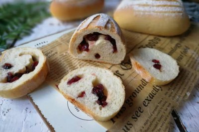 蔓越莓哈斯面包