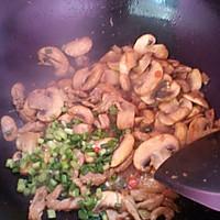肉丝炒口蘑。的做法图解7