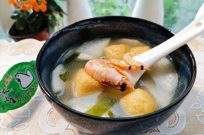 汤品类:快手的萝卜海鲜汤,用处多得很