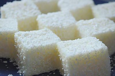牛奶椰丝小方