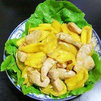 菠萝蜜炒肉柳