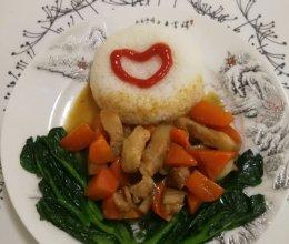 护眼神器~胡萝卜炖五花肉的做法