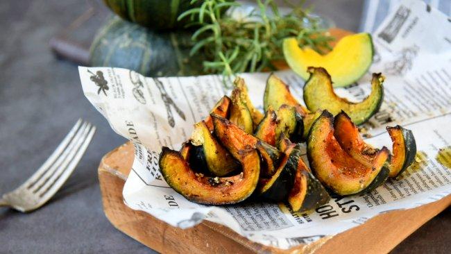 香甜软糯的日式烤南瓜的做法