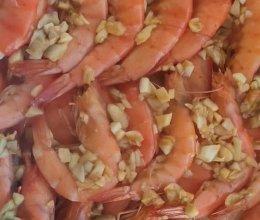 烤箱版-蒜蓉大虾的做法