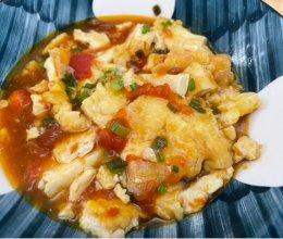 茄汁香煎豆腐的做法