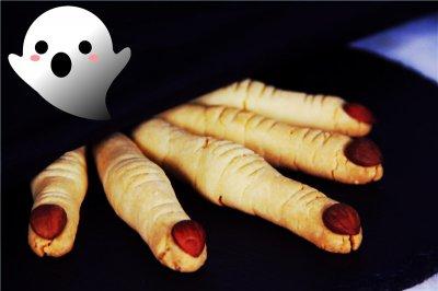 High 爆 Halloween——女巫手指饼干