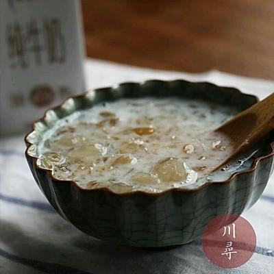 皂角米桃胶糖水羹