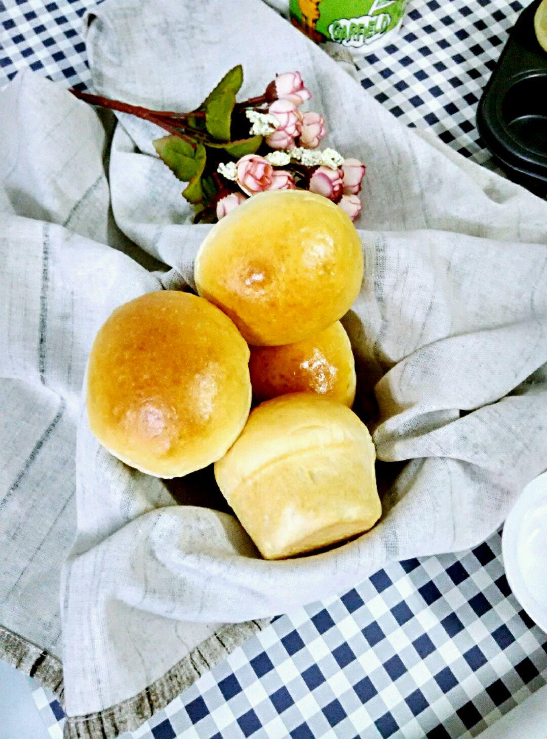 紫薯松软蘑菇小面包的做法步骤