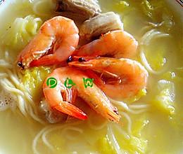 羊嫩虾鲜汤更美的做法