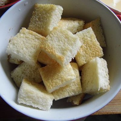 木糖醇面包布丁#九阳烘焙剧场