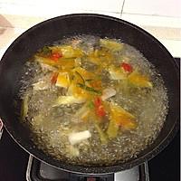 酸菜滑肉手擀面的做法图解4