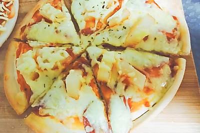 夏威夷风光披萨