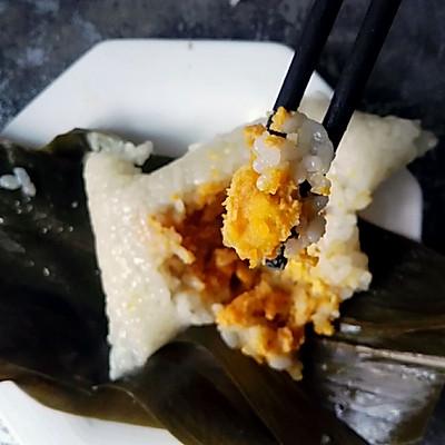咸鸭蛋黄粽子