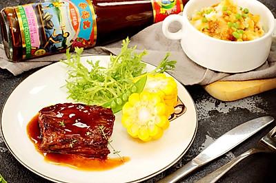 蚝油煎小牛肉#厨此之外,锦享美味#