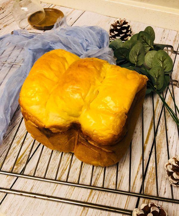 超松软淡奶油面包(面包机)的做法