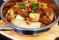#夏日撩人滋味#干锅肥肠娃娃菜#下饭神器的做法