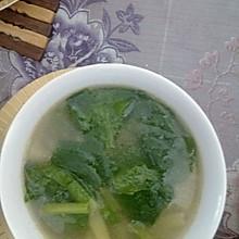 小白菜土豆丝汤