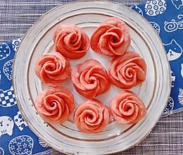 好看又好吃的玫瑰馒头的做法