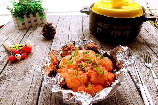 照烧干锅花菜#每道菜都是一道时光机#的做法