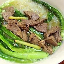 猪肝汤米粉